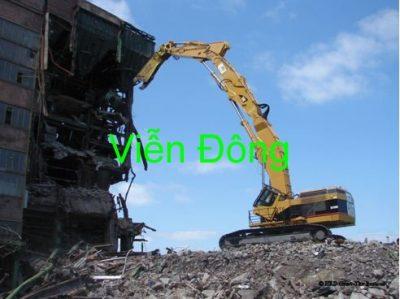 Tháo Dỡ Công Trình Tại Hà Nội An Toàn, Giá Rẻ