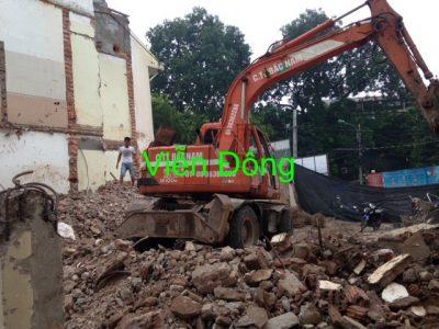 Phá dỡ công trình tại HN – An toàn – Giá Rẻ