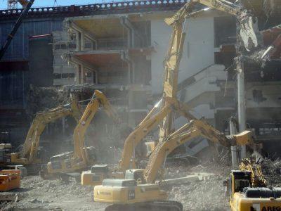 Phá dỡ nhà tại quận đống đa