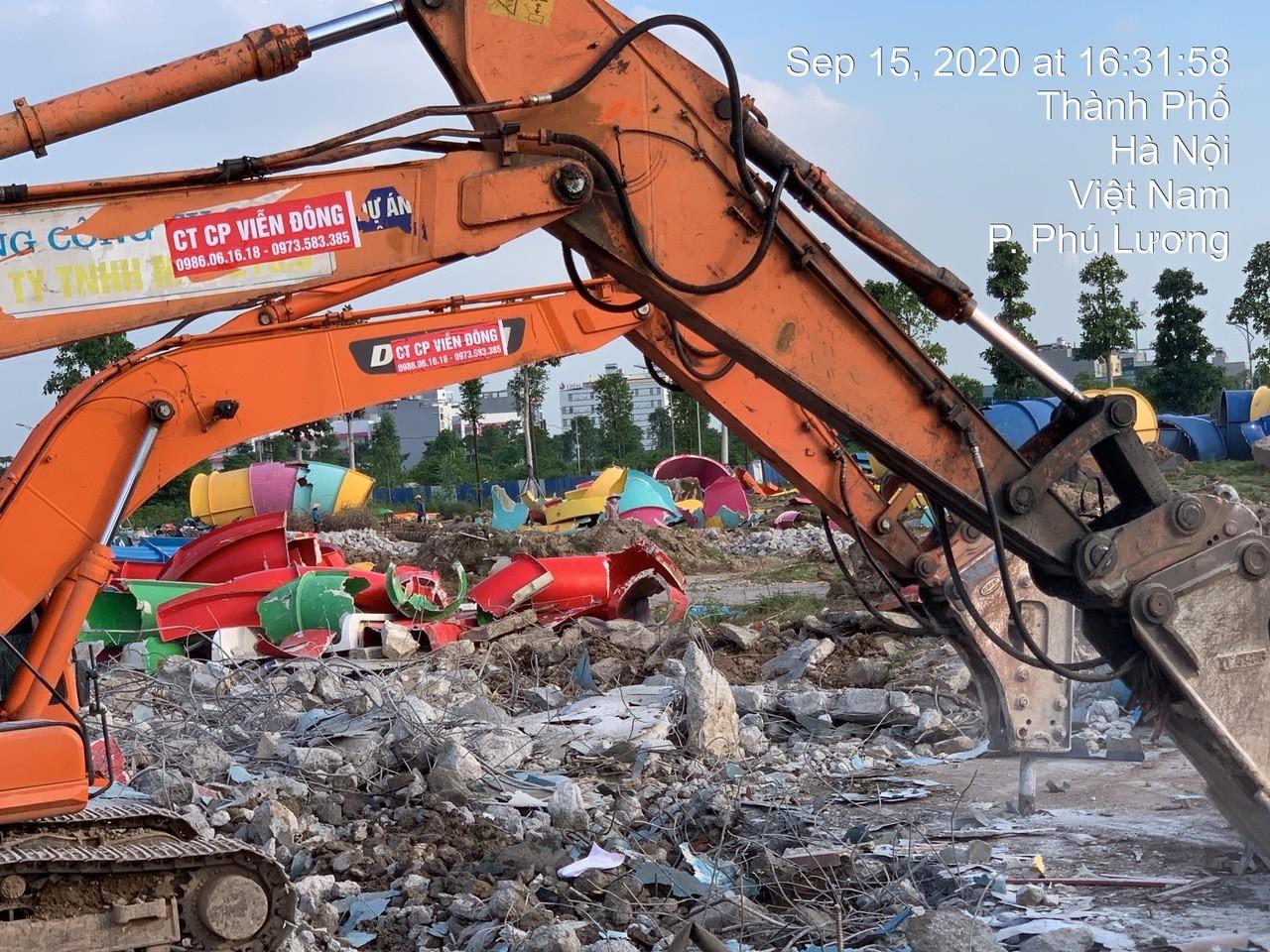 Phá dỡ nhà, phá dỡ công trình lớn bé Quận Đống Đa với đơn giá chỉ từ 100.000đ/m2 tại Hà Nội