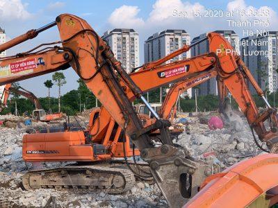 Phá dỡ nhà, phá dỡ công trình lớn bé với đơn giá chỉ từ 100.000đ/m2 tại Hà Nội